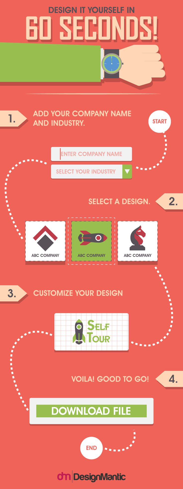 254 best 5 minutes logo images on pinterest infographic blog this amazing tool helps in creating creative interesting eye catchy and visually strong logos to capture the attention of their target market solutioingenieria Choice Image