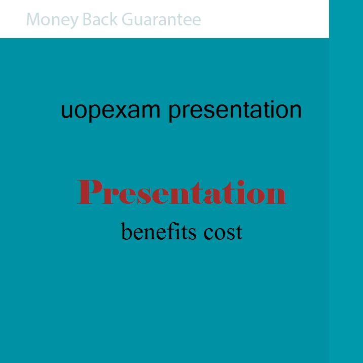 benefits cost(Power Point Presentation)