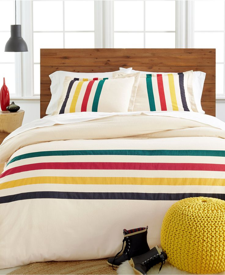 Pendleton Flannel Glacier Duvet Sets Bedding Collections Bed