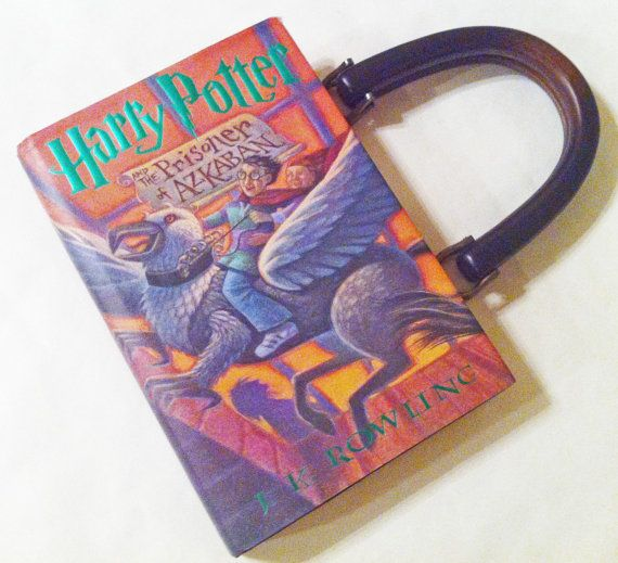 Harry Potter and the Prisoner Of Azkaban Book Purse - Choose Your Handle
