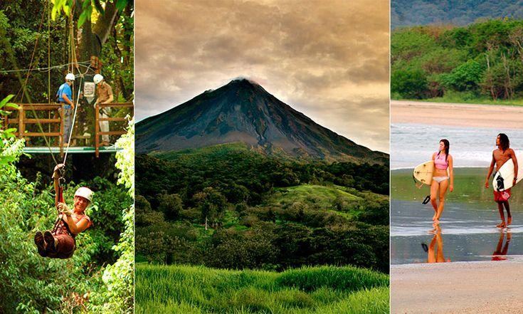 Costa Rica: Monos capuchinos, volcanes rugiendo, tirolinas y otras aventuras para disfrutar en familia