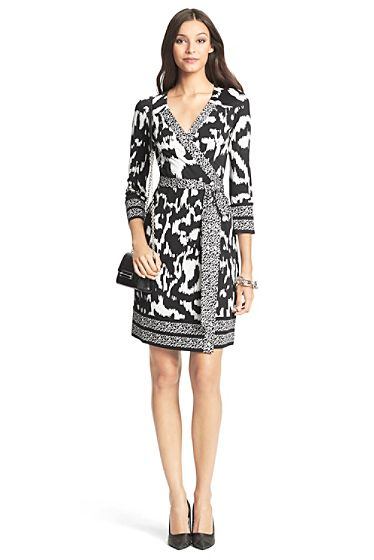 DVF Tallulah Silk Jersey Wrap Dress
