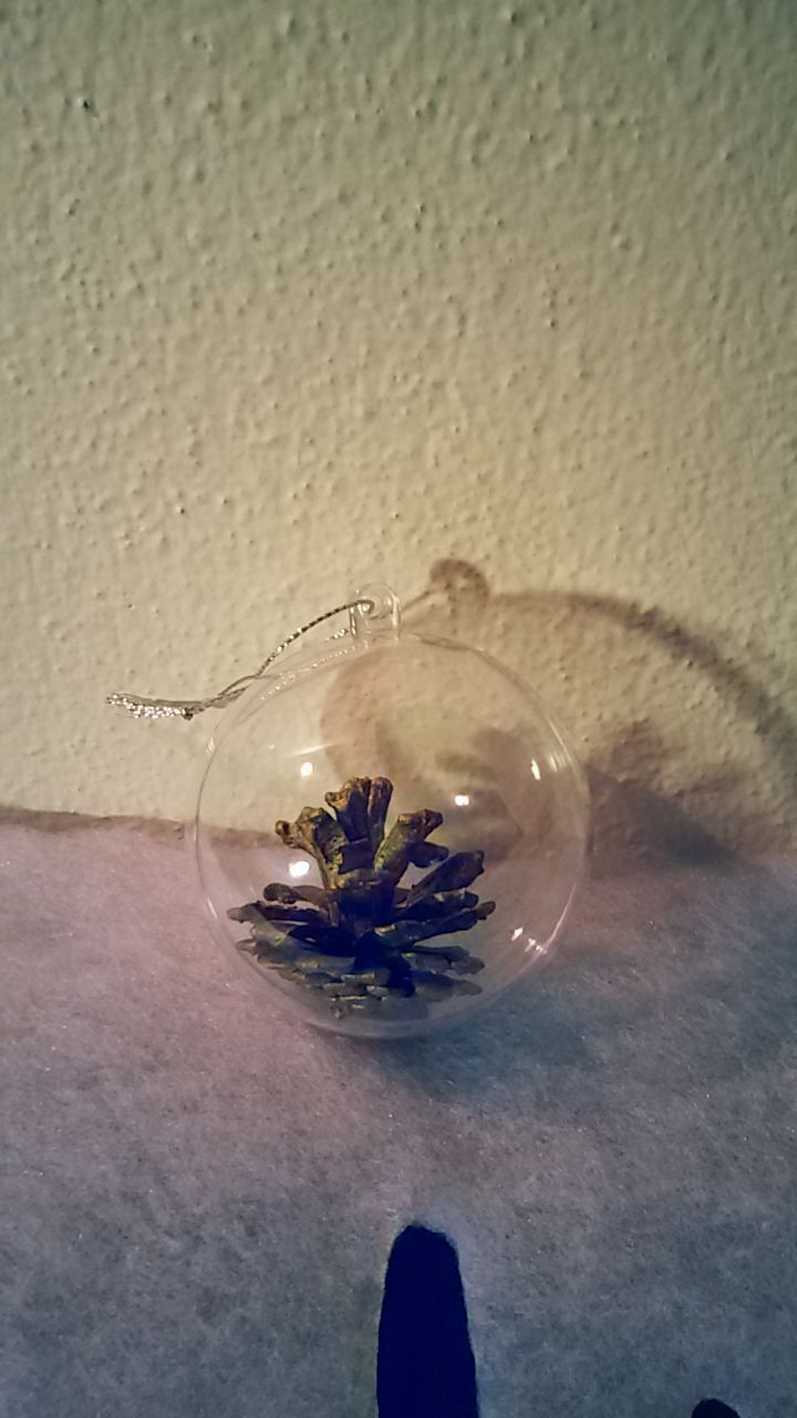 2 minutes diy christmas ball, so easy but incredibly elegant!