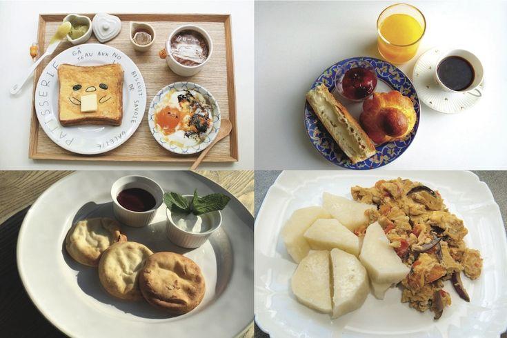Breakfast from around the world - theearlyhour.com