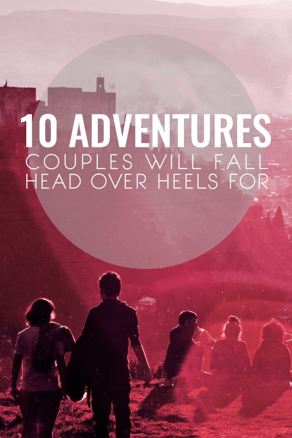 "I love taking adventure trips, especially with my SO. This is a great list! I especially love the ""land of a thousand castles!"""