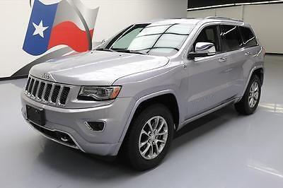 eBay: 2014 Jeep Grand Cherokee 2014 JEEP GRAND CHEROKEE OVERLAND ECODIESEL 4X4 NAV 63K #307487 Texas Direct #jeep #jeeplife