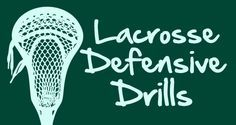 Lacrosse Defensive Drills!  http://www.toplacrossedrills.com/lacrosse-defensive-drills/  #lacrosse #defense #drills