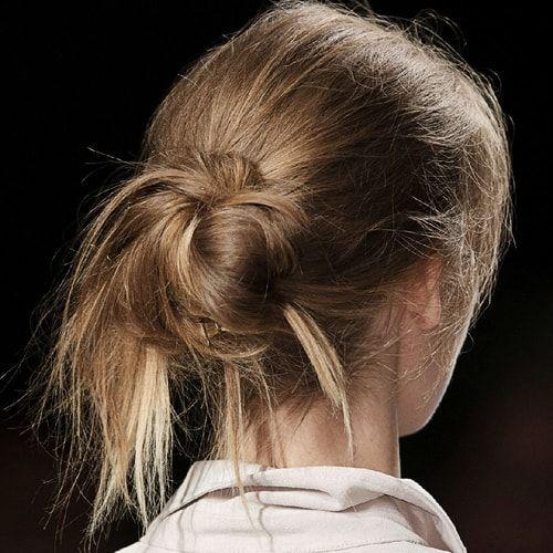 Chignon spettinato: come farlo? - #hairstyles #capelli
