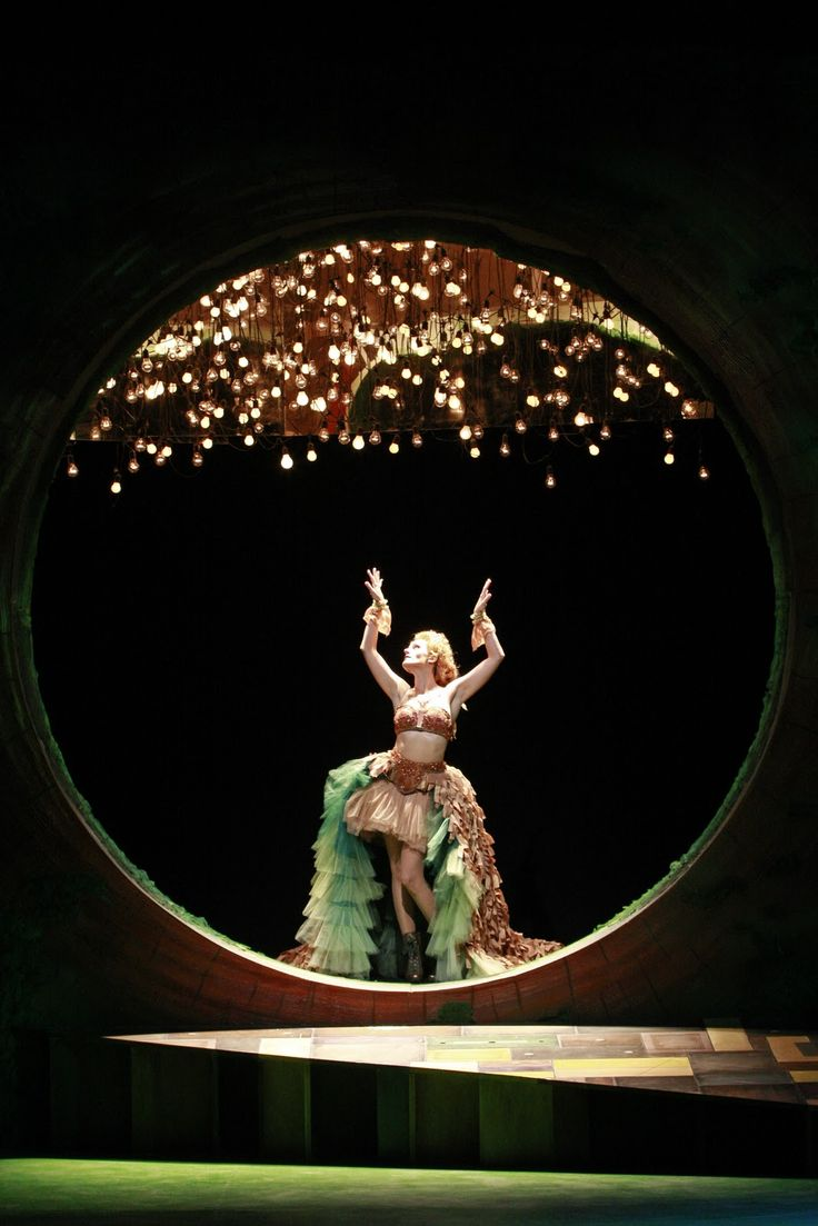 Susannah Schulman in South Coast Repertory's 2011 production of A Midsummer Night's Dream by William Shakespeare. Photo by Henry DiRocco/SCR.