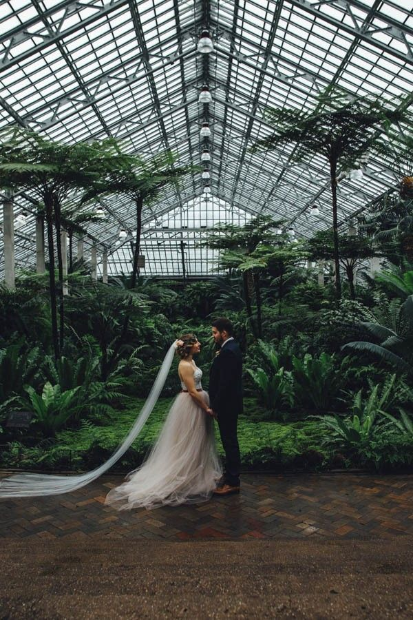 Garfield Park Conservatory, Chicago, Illinois | Erika Mattingly Photography