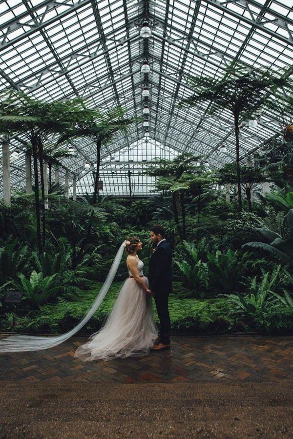 Garfield Park Conservatory, Chicago, Illinois | Erika Mattingly Photography