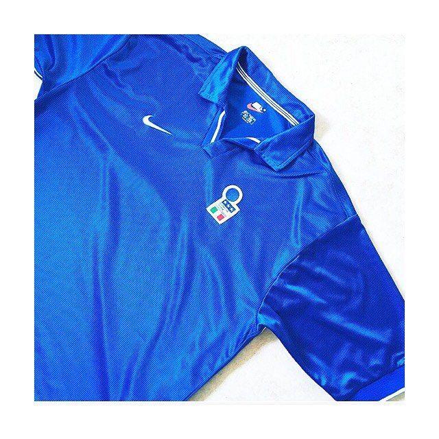 Italy Azzurri Futbol Italia Vintage-Look T-Shirt Italian National Soccer