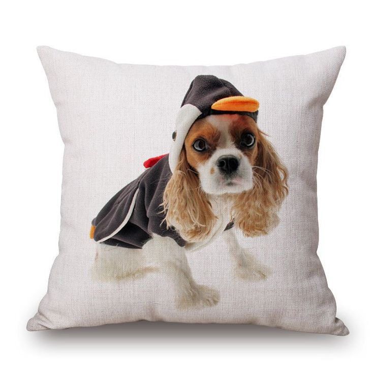 Cushion Cover - Cavalier King Charles Penguin – The General Pet Store