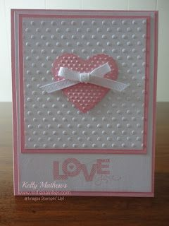 SU Seasonal Sayings, Perfect Polka Dots E F, Scalloped Heart Embosslit (Feb 15, 2013)