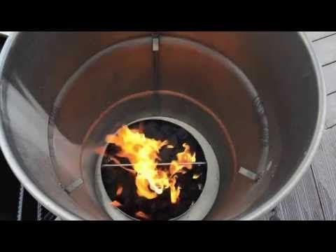 ▶ Lighting your Pit Barrel Cooker using Kingsford briquets
