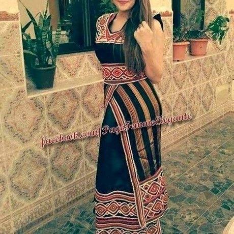 Robe kabyle noir 2017