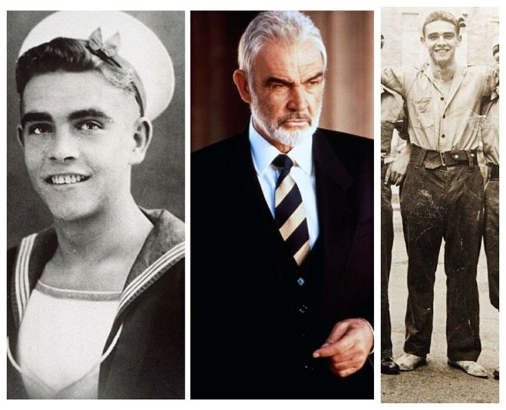 Sean Connery-WW2-Royal Navy-he was later discharged because of an ulcer. (Actor)