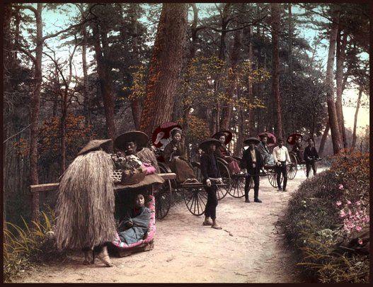 西洋人が魅せられた、カラー化された幕末〜明治初期の写真が美しい(画像)