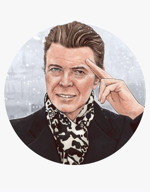 #David #Bowie Tag : #Gif #animé