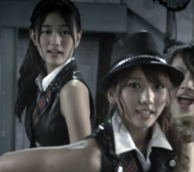 Rena With Akicha~ in RIVER MV.