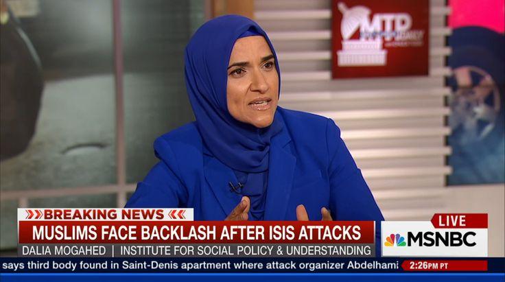 Dalia Mogahed on Islamophia. MashAllah