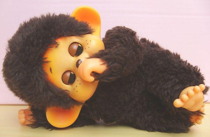 Monchhichi, Monchichi Affe mit Schlafaugen  | eBay