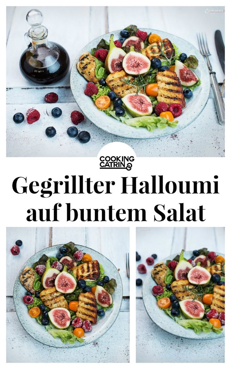 Halloumi gegrillt, gegrillter Halloumi, Salat, salad, grilled halloumi, Grillkäse, Salat mit Halloumi, Grillrezept, grilled cheese, salad with halloumi, summer recipe, grill recipe, BBQ recipe, veggie, veggie recipe, veggie BBQ, barbecue recipe, Grillrezept vegetarisch