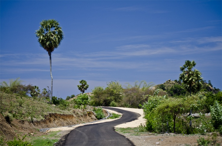 I took this photo on my way back from Batu Cermin Cave when I passed Bukit Cinta