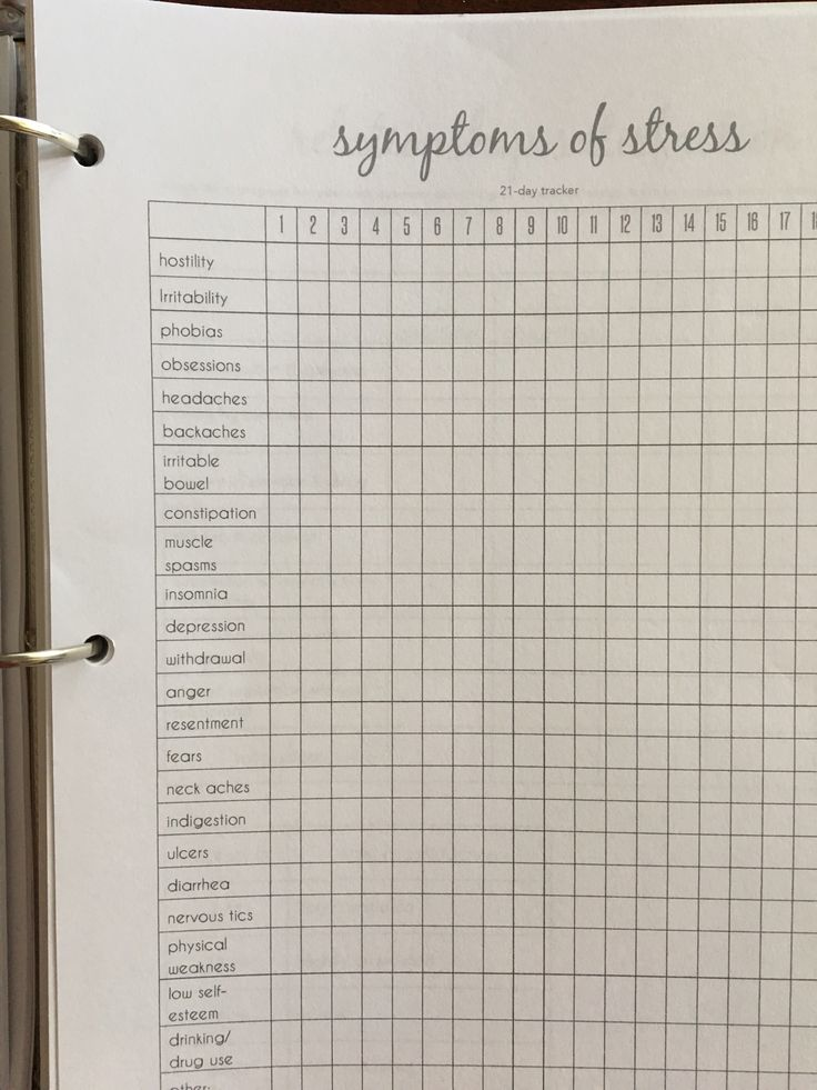 Need help managing your stress? Check out this symptom tracker on Etsy! #mentalhealth #depression #anxiety #selfhelp #therapy