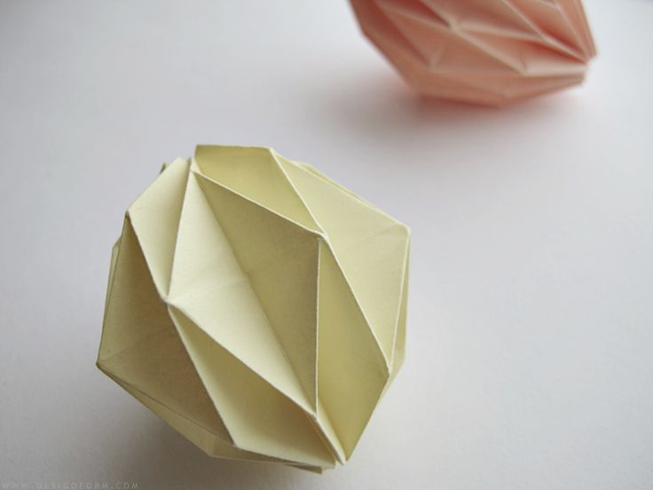 I showed a picture of my tiny origami balls on instagram, and I´m so happy you like them! Here is the...