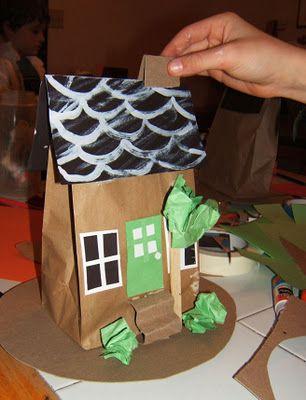 Creative Studio: Paper Bag Houses
