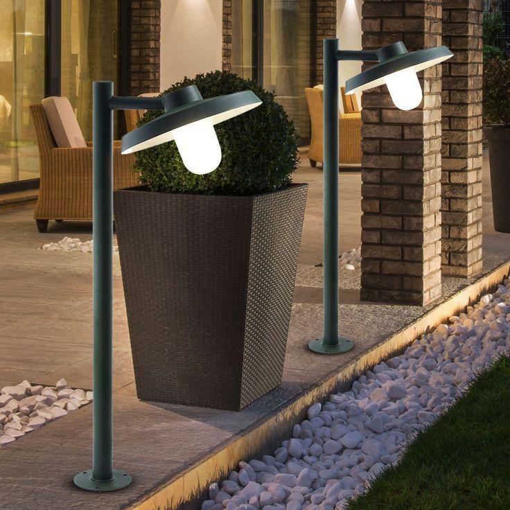 Good  Watt LED Au en Steh Leuchte Garten Weg Beleuchtung Energiespar Lampe Veranda