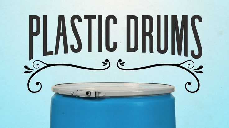 Plastic Drums. http://www.thecarystore.com