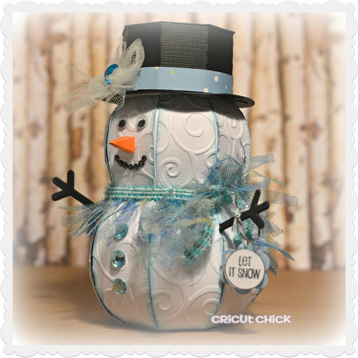 Cricut Chick: Let it Snow...Christmas Papercraft, Cricut Ideas, Cricut Cuttlebug, Cricut Crafts, Cricut Able, Crafts Things, Cricut Svg, Cricut Chicks, Paper Crafts