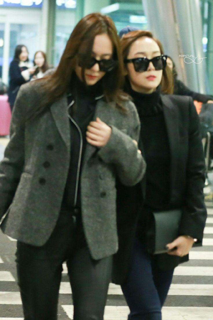151221 Krystal Jessica Incheon Krystal F X Airport Fashion Pinterest Incheon