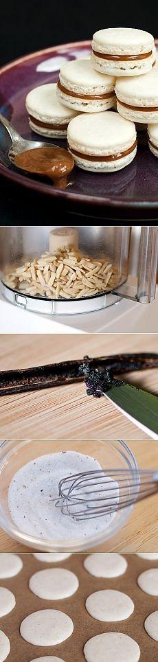 Как приготовить макаруны - рецепт, ингридиенты и фотографии