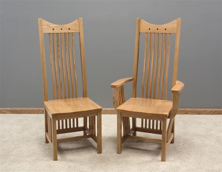 amish royal mission dining room chair