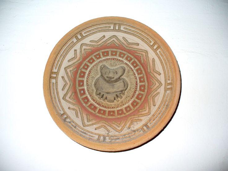 Maya terracotta dish 2