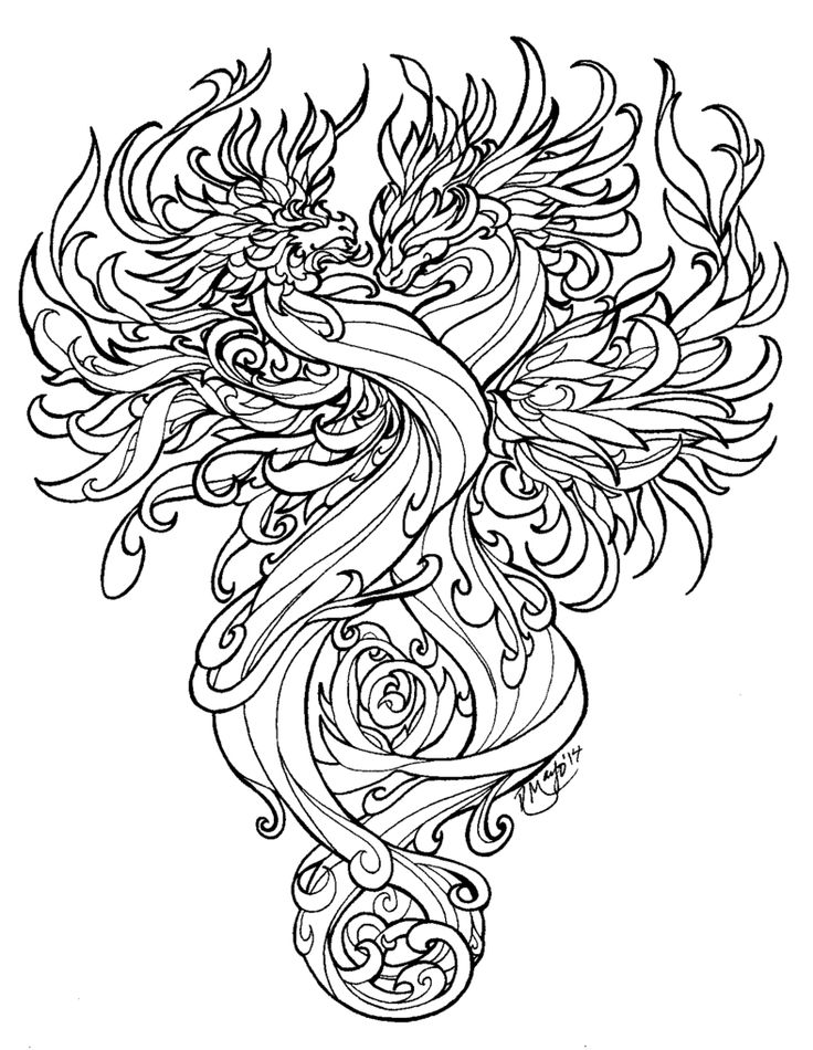 12 best Dragons\ Mitology images on Pinterest Coloring books - fresh dayton dragons coloring pages
