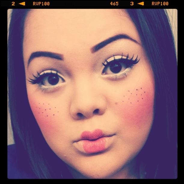 35 best Doll makeup images on Pinterest | Doll makeup, Make up and ...