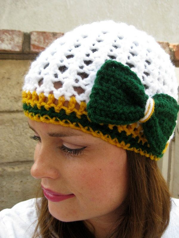 Football Team Beanie (choose your own team) (NFL) Featured in Green Bay Packers ADULT. $22.00, via Etsy.