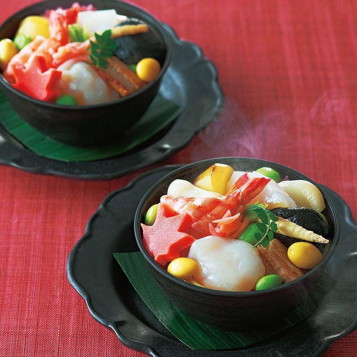 蒸し寿司(ぬくずし)(12月お届け専用)