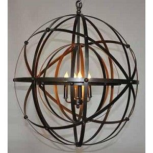 Alchemy Chandelier - Metal