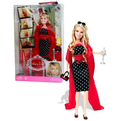 Mattel Year 2006 Barbie Hilary Duff Series 12 Inch Doll Red Carpet Glam With