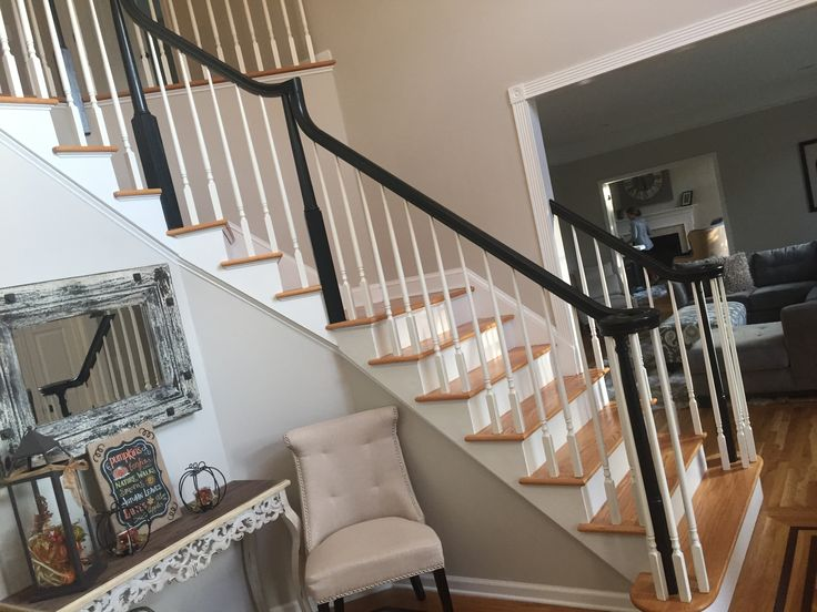 Best Stair Railings Painted Black Mendham Stair Railing 400 x 300