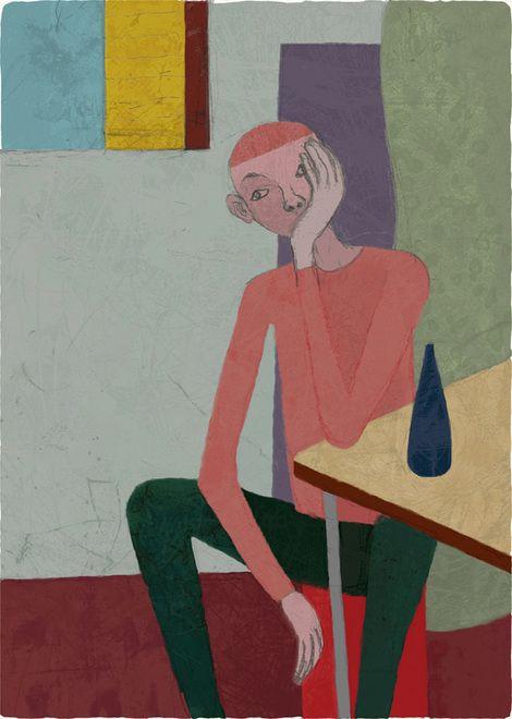 Toshihiko Okuya, study #033 on ArtStack #toshihiko-okuya #art