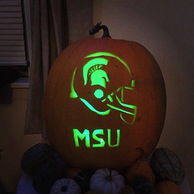 Go state happy halloween msu michiganstate sparty
