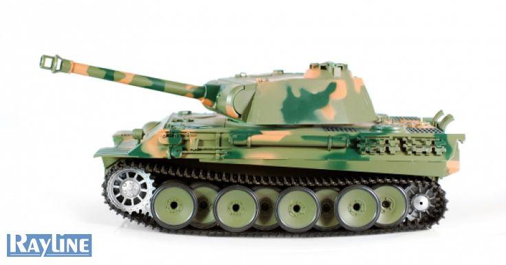 RC Panzer Heng Long 3819-1 Rauch und Sound German Panther Tank