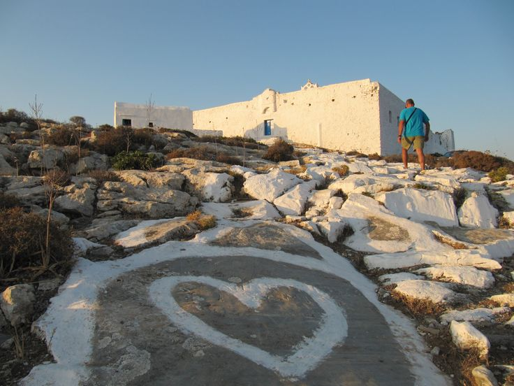 The Monastery of Zoodohou Pigis (Chrysopigi), Sikinos island, Greece