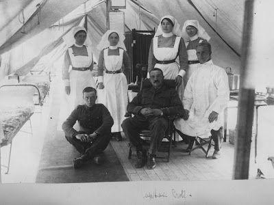 Olive Tree Genealogy Blog: Nursing Sister WW1 Photo Album: 31V Captain Croll